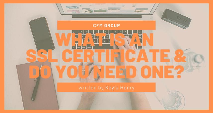 SSL Certificate, Laptop, Internet security